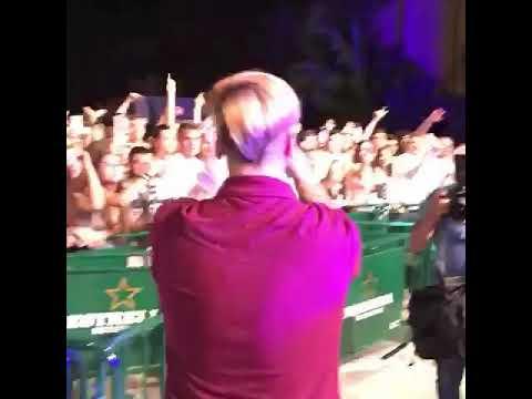 Duki Cantando Rockstar En España
