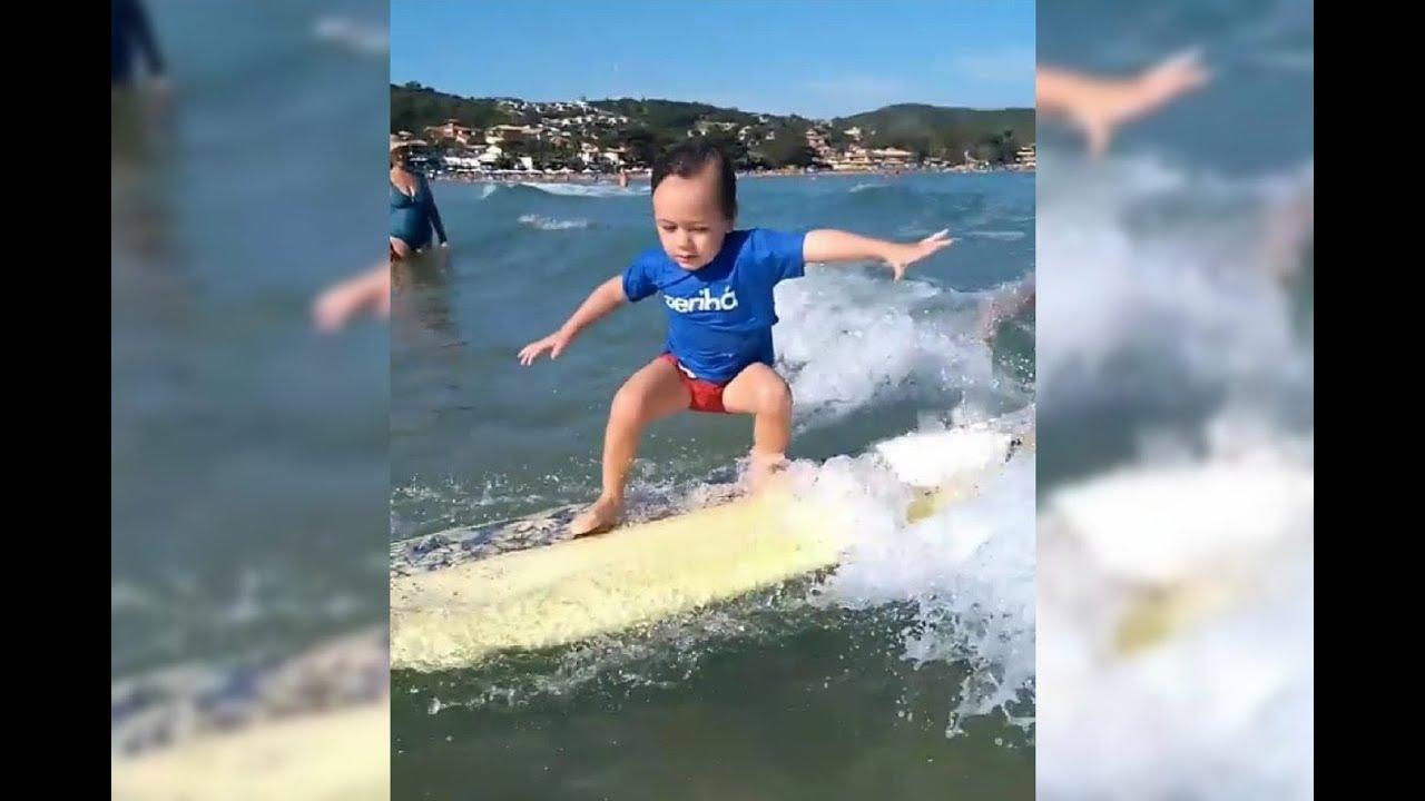 Javier surf em Geribá - Búzios