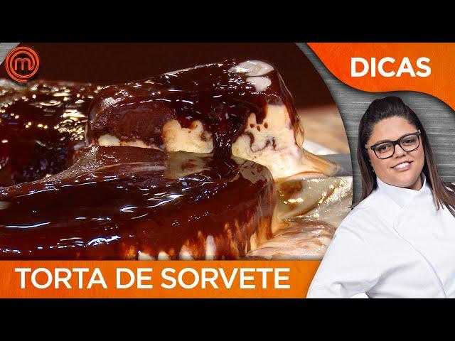 TORTA DE SORVETE com Dayse Paparoto | DICAS MASTERCHEF