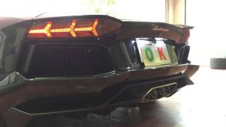 "Lamborghini Aventador LP700  ""POWERCRAFT"" EXHAUST SOUND by OFFICE-K TOKYO"