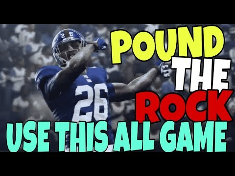 I FORM CLOSE TOSS ON ROIDS! THE REAL BEST RUN FORMATION IN MADDEN 19! BEST MONEY PLAY OFFENSE TIPS