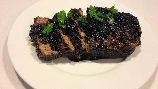 Lamb And Veal Meatloaf With Balsamic Tomato Glaze Recipe