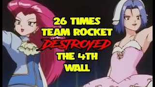 26 Times Team Rocket Destroyed The 4th Wall