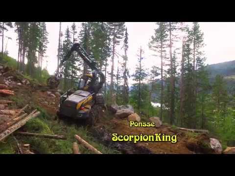 Ponsse ScorpionKing H7 - Hallingdal - Buskerud - Norway - 4K