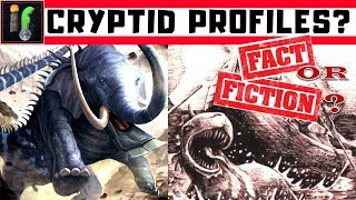 Криптозоологи ірландський водяний cryptid і африканська велетенська змія.