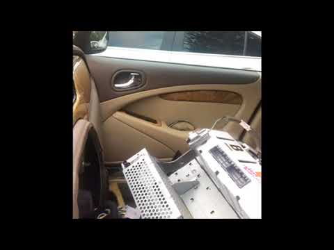 How to install 03-08 jaguar s type x type 02-08 stereo harness +