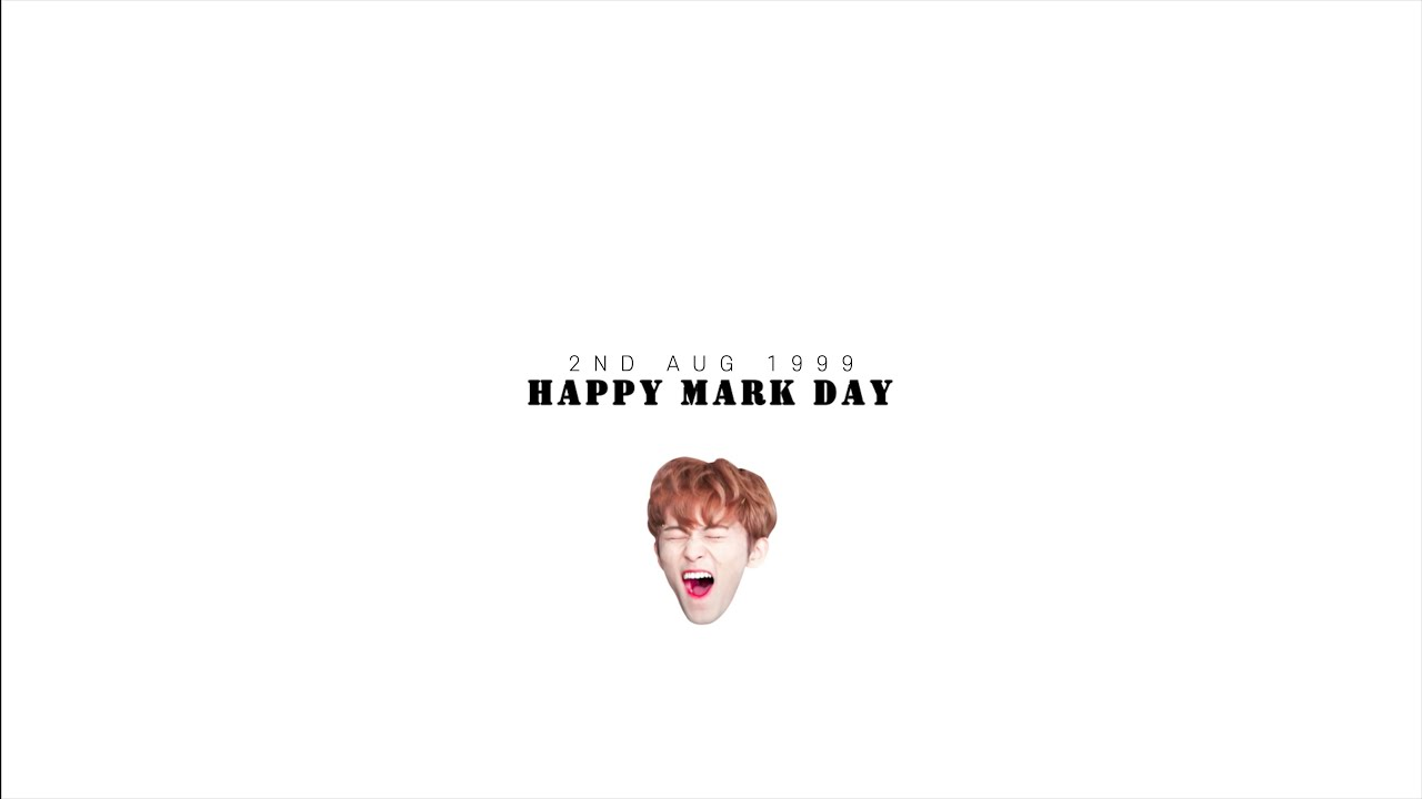 TOUCH_HAPPY MARK DAY :) 마크야 생일축하해!