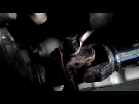 Shifter linkage tighten & front driveshaft Nissan pathfinder