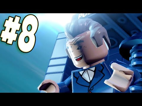 """LEGO Dimensions - Part 8 The Dr is In """"Doctor Who"""" (Wii U Walkthrough)"""