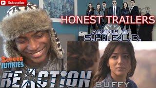Honest Trailers - Agents of S.H.I.E.L.D. - REACTION!