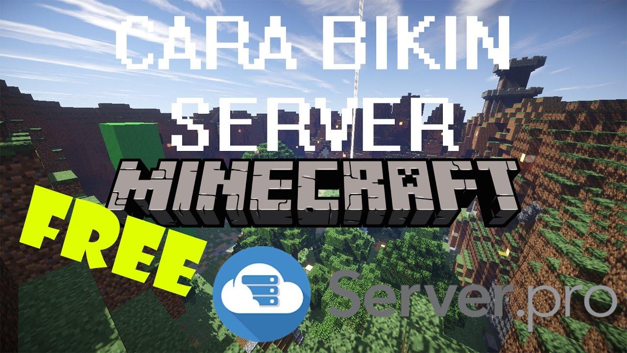 Cara Bikin Server Minecraft 1 10 2 FREE (Server pro) - Bahasa Indonesia