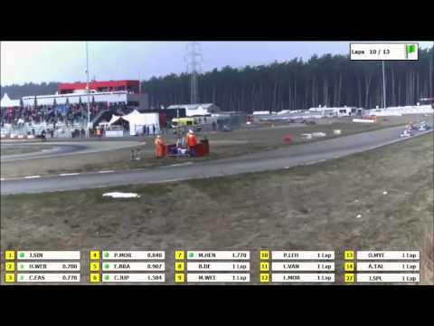Prefinal Senior Rotax Max Euro Challenge 2013 Genk / Belgium