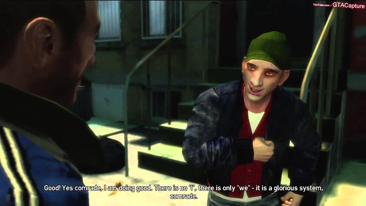 Gta Iv Xbox 360 Random Character Brian Meech 1