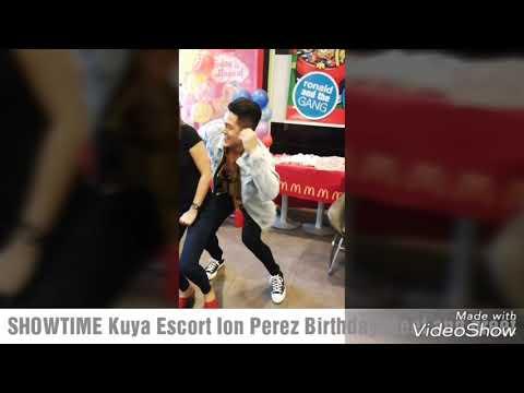 SHOWTIME Kuya Escort Ion Perez Birthday Meet and greet