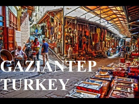 Turkey-Gaziantep (Coppersmiths shopping Bazaar) Part 2