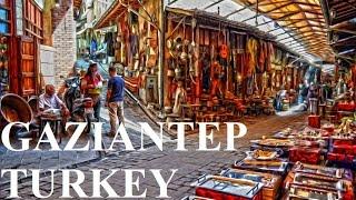 Turkey-Gaziantep (Coppersmiths shopping Bazaar) Part 2