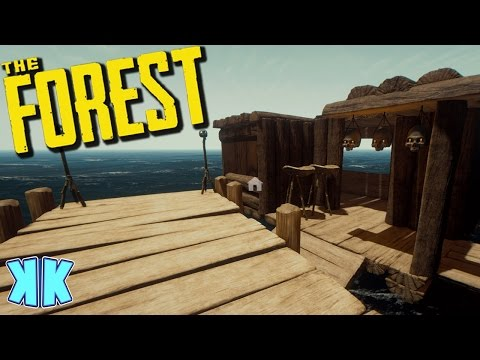 The Forest | GLITCHY HOUSE BOAT! | Updated 0.46 2016 Gameplay | #34
