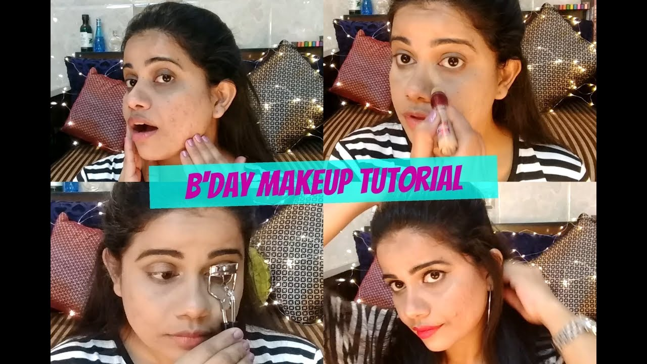 Birthday Party Simple Makeup Look