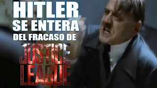 HITLER SE ENTERA DEL FRACASO DE LA JUSTICE LEAGUE