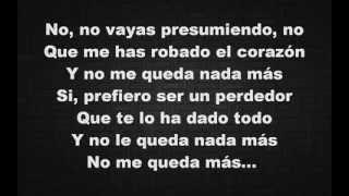 Enrique Iglesias   El Perdedor  ft Marco Antonio Sols Lyrics Video