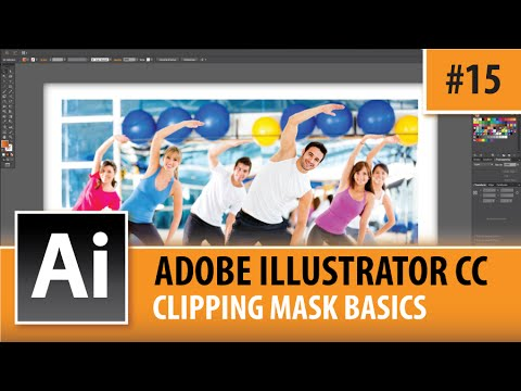 how to create clipping masks inside adobe illustrator cc