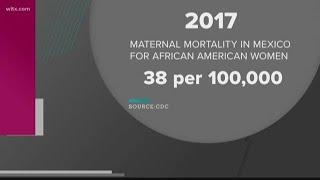 Examining mother mortality rates in South Carolina