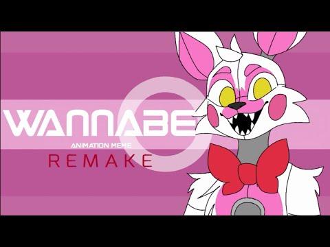 Wannabe Animation Meme REMAKE [READ DESC] | FNAF Sister Location/Funtime Foxy (FlipaClip)