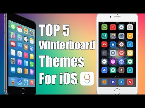 Top 5 FREE Winterboard Themes for iOS 9 - 9.0.2 PanGu Jailbreak Compatible! (Anemone Themes)