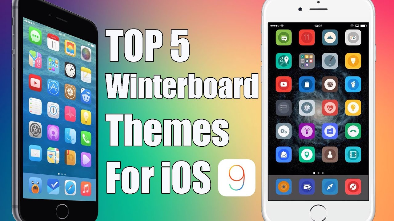 Top 5 FREE Winterboard Themes for iOS 9 9 0 2 PanGu Jailbreak