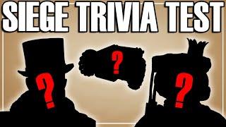 The Ultimate Siege Trİvia Show - Rainbow Six Siege