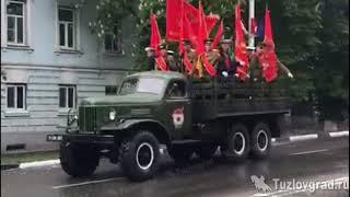 В День Победы по улицам Новочеркасска проехала историческая военная техника