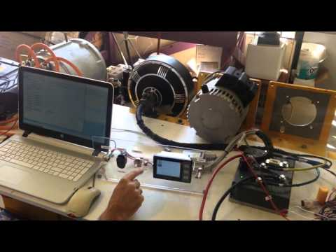 HUB MOTOR TEST WITH SEVCON SIZE 4 80V - YouTube