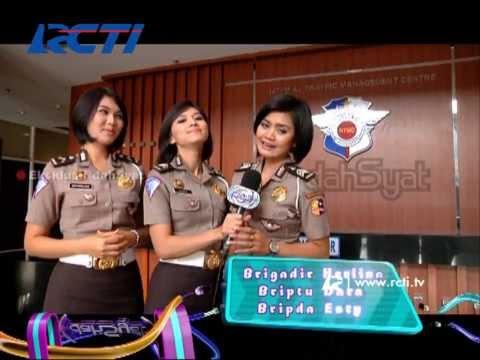 Dahsyat 2 Des - Kegiatan Polisi Wanita (Polwan) NTMC