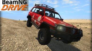 BeamNG DRIVE crash test mod SUV Toyota Land Cruiser 100