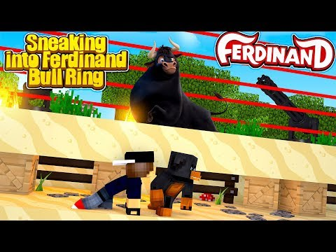 Minecraft Most Secure - BREAKING INTO FERDINAND'S BULL RING!!!
