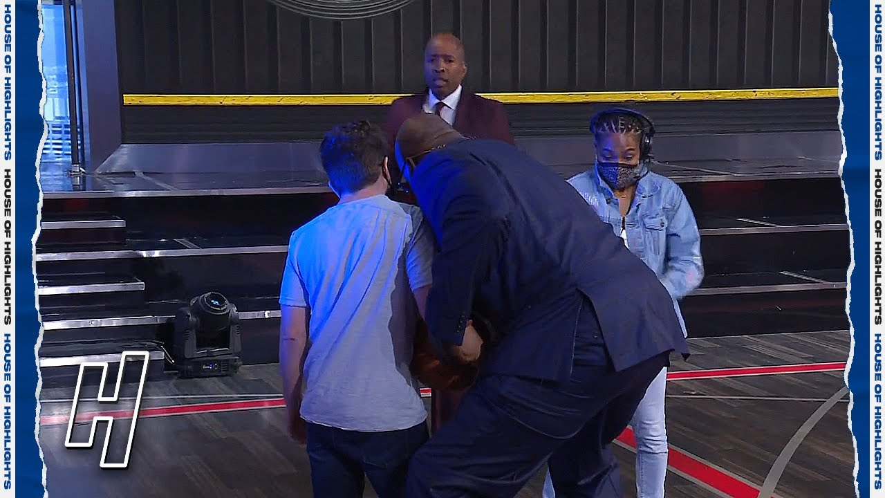 Shaq & Kenny Arguing Over How to Guard Trae Young ?