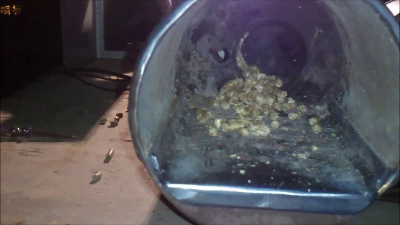 Arduino pellet burner