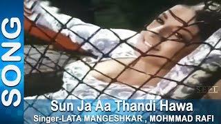 Download Sun Ja Aa Thandi Hawa - Lata Mangeshkar, Kishore Kumar @ Haathi Mere Saathi - Rajesh Khanna, Tanuja