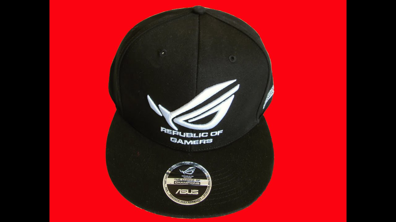 ASUS ROG Limited edition SNAPBACK (review) - YouTube abe026430a3