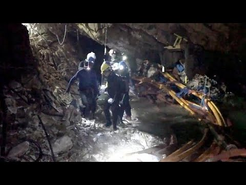 Os heróis do resgate em Tham Luang