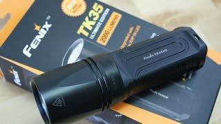 (ENG) Fenix TK35 Ultimate 2000 Lumen (2015 Version)