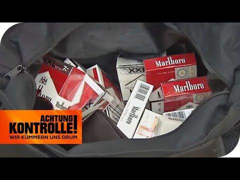 Gekauft oder geklaut: Woher stammen die Zigaretten?   Achtung Kontrolle   kabel eins