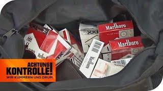 Gekauft oder geklaut: Woher stammen die Zigaretten? | Achtung Kontrolle | kabel eins