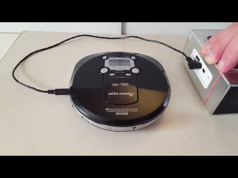 ELTA 8863 MP3 Discman CD Player test für Ebay