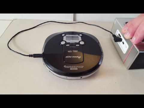 ELTA 8863 MP3 Discman CD Player test für Ebay