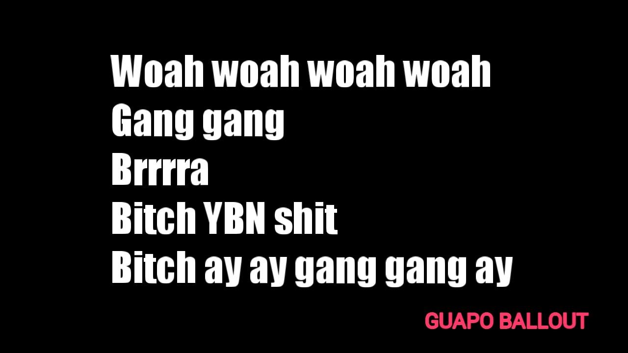 Woah woah i do not hook up up lyrics