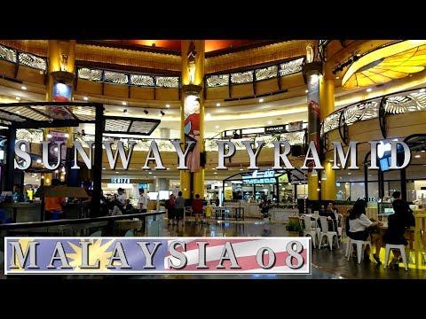 Sunway Pyramid shopping mall - Kuala Lumpur | Travel in Malaysia 2017