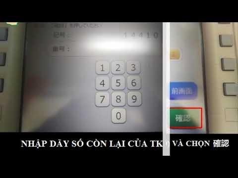 HƯỚNG DẪN CÁCH CHUYỂN TIỀN QUA THẺ ゆうちょ銀行  | Thẻ Game Nhật Việt  |