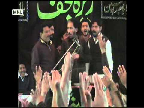 Zakir Malik Sajid Hussain Rukan 3 rabi ul awal 2013 Reza e najaf Quila bhattian wala