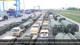 ANAKONDA16 - американская техника в польском порту